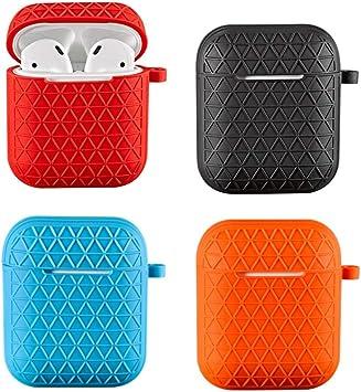 XIAONINGMENGDIAN Estuche Airpods, Juego de Auriculares de Silicona de Malla, Adecuado para Auriculares inalámbricos con Bluetooth Que Carga la Cubierta del Estuche, Productos Electrónicos: Amazon.es: Electrónica