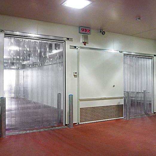 Puerta Cortina Algodón Cortina De Plástico PVC Puerta De La Tira Resistencia A La Temperatura -20 ° F A 140 ° F Resistente Al Agua for Entradas Al Aire Libre, Restaurantes, 24 Tamaños: Amazon.es: Hogar