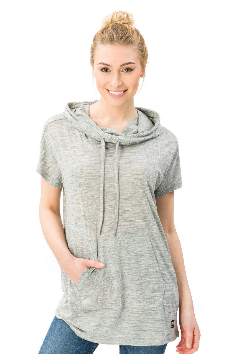 Super.natural Super.natural Super.natural Damen Funnel T-Shirt B07B97YYLW Kapuzenpullover Verkauf neuer Produkte 5b6777