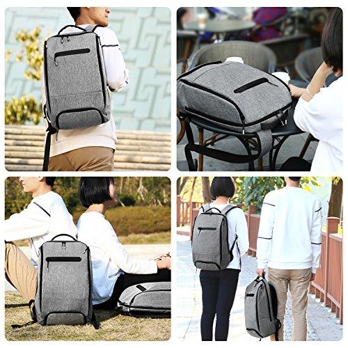 9fb14fd6ae19 REYLEO Backpack Laptop Backpack Anti-Theft Men Women School Bag ...