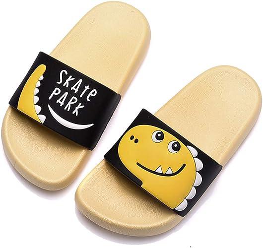 Antideslizantes Zapatillas de Estar por casa Zapatillas de ba/ño para Hombre Sandalias de Dinosaurio Zapatillas de ba/ño para ni/ños Chanclas de ba/ño para Mujer