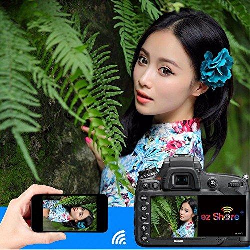 ez Share 32GB 64GB Wireless Wifi Compact Flash Class 10 CF Memory Card High Speed for Camera Canon Nikon Sony FU JIFILM series (32GB) by adventurers (Image #5)