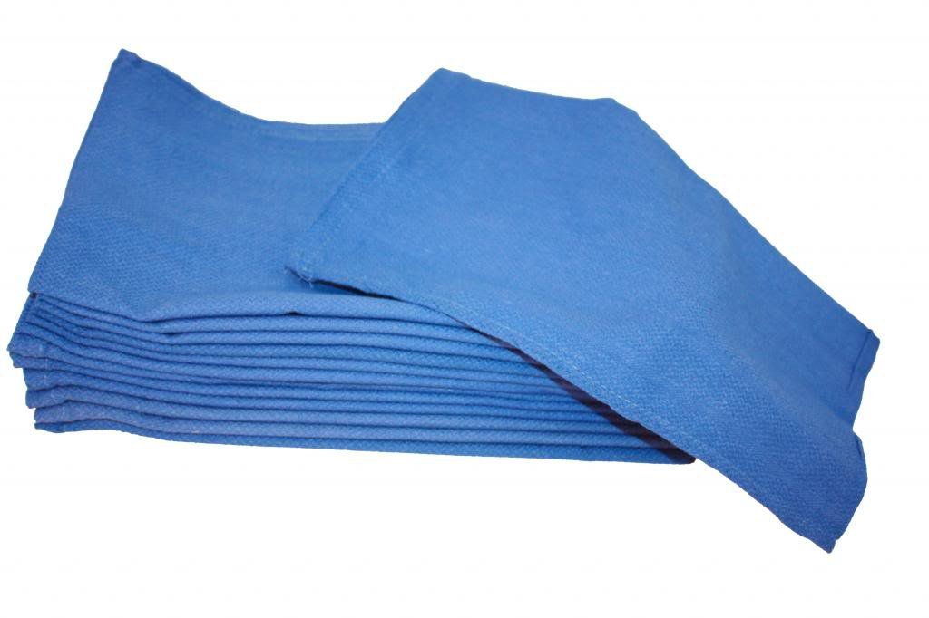 Atlas Blue Huck Towels 16x26'' (24 Pack)