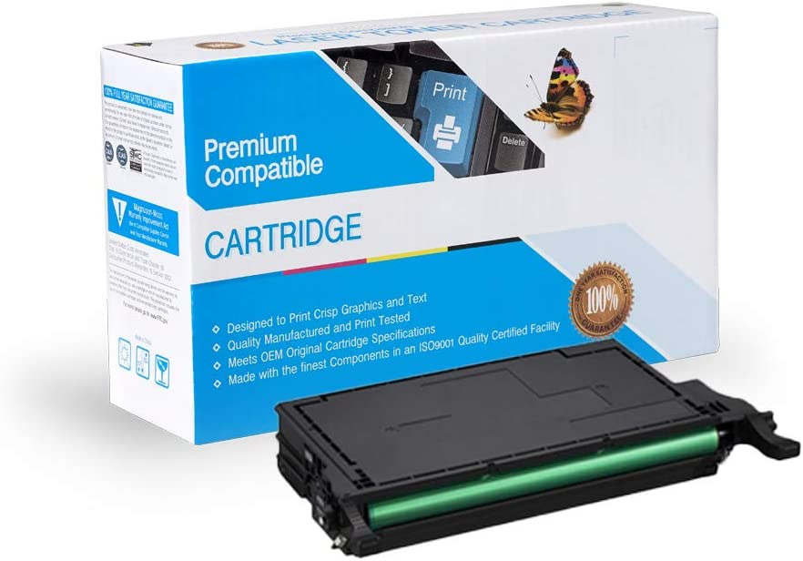 On-Site Laser Compatible Toner Replacement for Samsung CLT-K609S CLP770ND Black Works with: CLP770