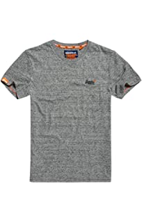 bce6c267 Superdry Men's Orange Label Vintage Emb Short Sleeve T-Shirt: Amazon ...