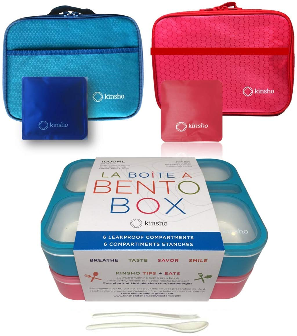 Gorgeous Kid Bento Lunch Box with Bag Bags Packs Boxes 2021 Cold 2 Ice