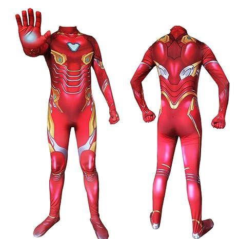 YXIAOL Traje De Cosplay De Superhéroe, Traje De Iron Man De ...