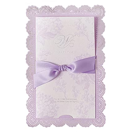 Amazon Com Wedding Invitations Creative Wedding Invitations Theme