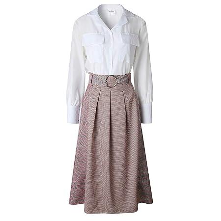 Vestido de verano de las mujeres Vestido de 2 piezas para mujer ...