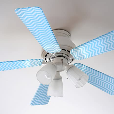Fancy blade ceiling fan accessories blade cover decoration blue fancy blade ceiling fan accessories blade cover decoration blue chevron aloadofball Images