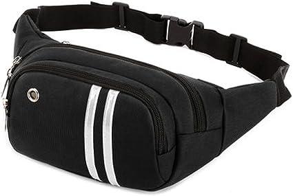 Jogging Running Belt Bum Waist Pouch Fanny Pack Camping Sport Hiking Zip Bag US