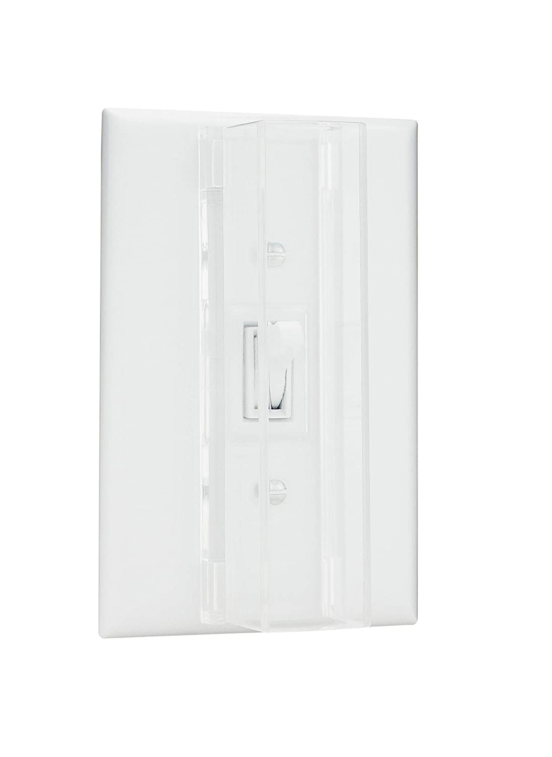 Child Proof Light Switch Guard For Standard Toggle 2 Way Stays On Style Baby