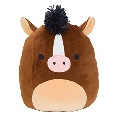 Squishmallow Kellytoy 16 Inch Brisby The Brown Horse- Super Soft Plush Toy Animal Pillow Pal Pillow Buddy Stuffed Animal Birthday Gift Holiday: Toys & Games