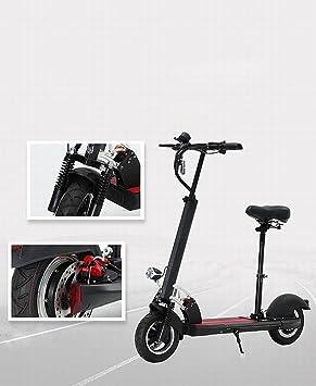 Moda Moto Scooter Portátil Plegable Bicicleta de Amortiguación para Adultos en Nombre de la Conducción de