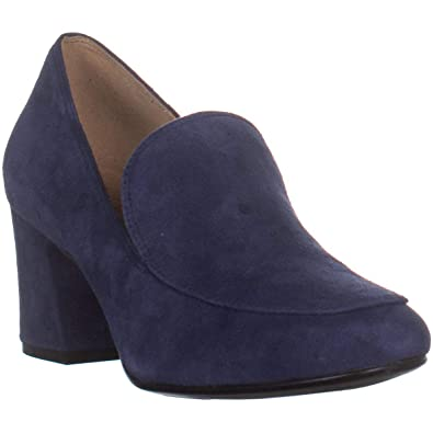 f3ada2553c3 Naturalizer Women s Dany Ink Navy Suede 4 M US M ...