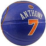 Spalding NBA New York Knicks Carmelo Anthony Rubber Jersey Basketball
