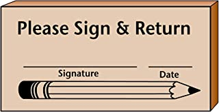 product image for Sign & Return Teacher's Stamp