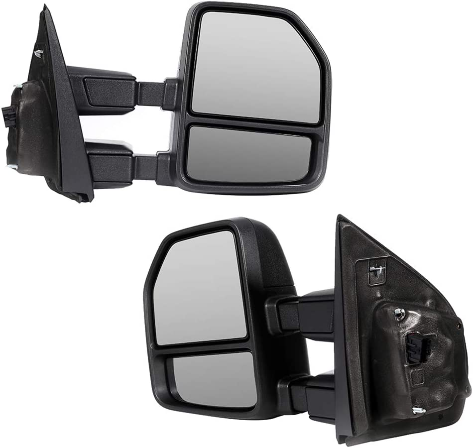 JZSUPER 2017 2018 2019 2020 Towing Mirrors fit for Ford F250 F350 ...