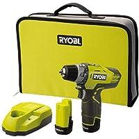 Ryobi .R12DD-LL13S drill Sin llave Negro, Amarillo
