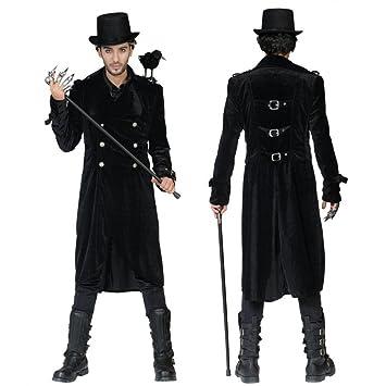 Funny Fashion Escudo gótico para Hombre Capa de Terciopelo ...