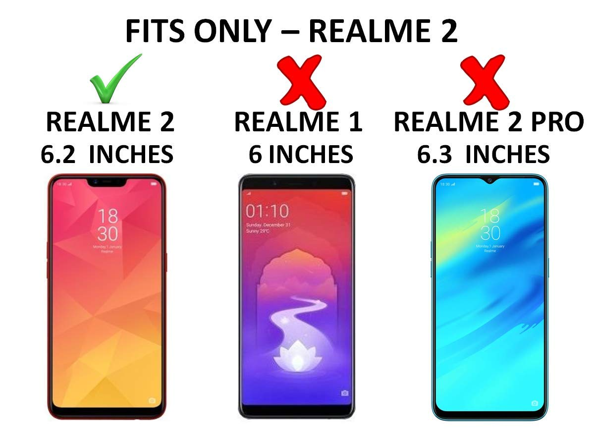 Bracevor Flip Cover for Oppo Realme 2 | Realme C1(2018) | Oppo A5 Leather  Case | Foldable Stand | Inner TPU | Wallet Card Slots - Executive Brown