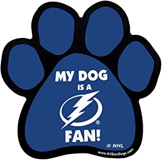 product image for NHL Tampa Bay Lightning Paw-Shaped Magnet, One Size, Royal