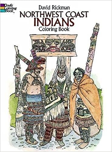 Northwest Coast Indians Coloring Book (Dover History ...