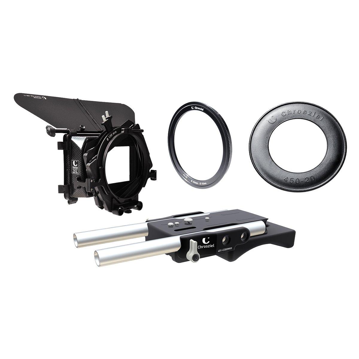 【国内正規品】Chrosziel クロジール Mattebox Kit 450W-20 for Canon EOS C Series 450W-20C300KIT   B00WUGIEW8