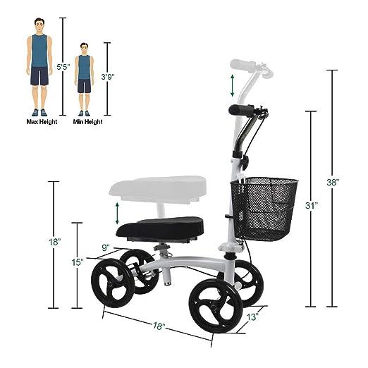 Amazon.com: Give Me - Rodillera pequeña para adultos, para ...