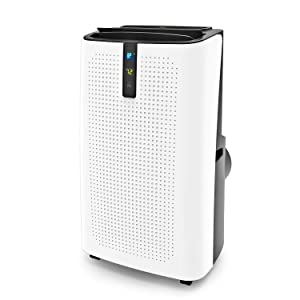 JHS 14,000 BTU Portable Air Conditioner for Rooms Up to 320 Sq.Ft, Portable AC Unit with Dehumidifier and Fan, Remote Control, Digital LED Display