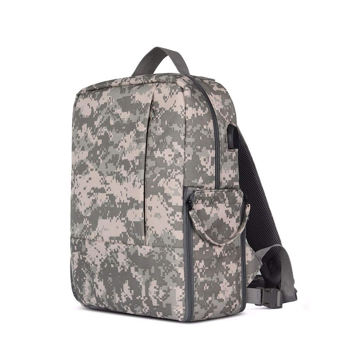 ノウ建材貿易 ショルダートラベル写真袋カジュアル一眼レフカメラバッグカメラバックパック (色 : Camouflage) B07R76PQTZ Camouflage