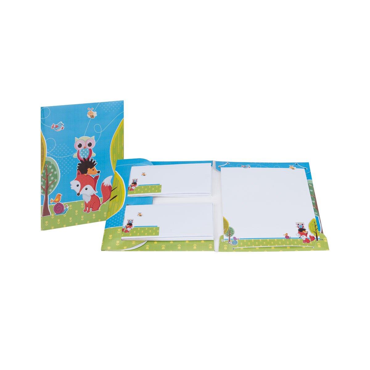 Rössler Papier - - Waldtiere - Briefpack 10 10-165x235 90x177 - Liefermenge  6 Stück B07CX6VZ84 | Gewinnen Sie hoch geschätzt