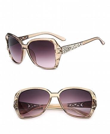 Art und Weisesonnenbrille Arbeiten Sonnenbrille um , Dunkelgrau / Goldrahmen