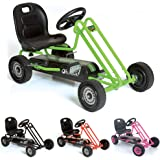 Hauck T90105 Lightening Go-Kart - Coche con Pedales de Juguete (Metal, plástico
