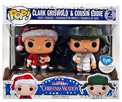 funko pop vacation clark griswold and cousin eddie national lampoons fye exclusive vinyl figures