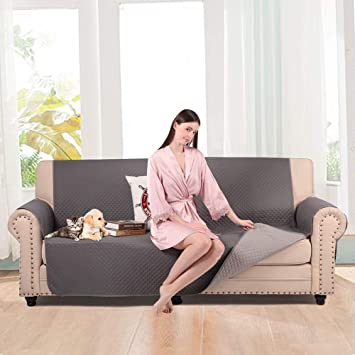 Incredible Luckyboy Extra Large Sofa Cover For Pet Dog Kid Reversible Oversized Sofa Slipcover Anti Slip Oversized Couch Covers Furniture Protector Machine Frankydiablos Diy Chair Ideas Frankydiabloscom