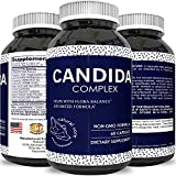 Natural Candida Cleanse Yeast Digestive Enzymes Weight Loss Probiotic Capsules Oregano Leaf Oil Reishi Mushroom Fungus Killer Herbs with Vital Nutrients Caprylic Acid for Men & Women by Natural Vore