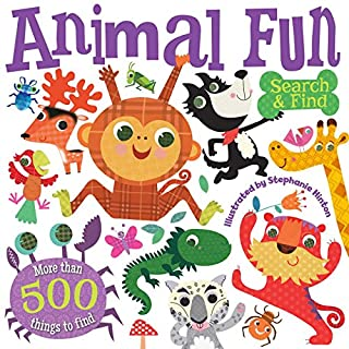 Book Cover: Animal Fun Search and Find