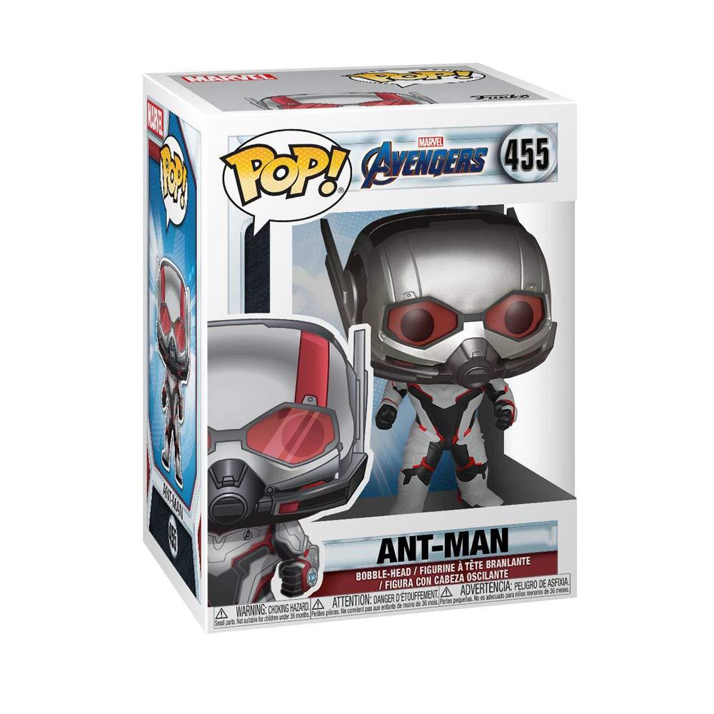 Funko- Pop Bobble: Avengers Endgame: Ant-Man Vengadores Collectible Figure, Multicolor, Estándar (36666)