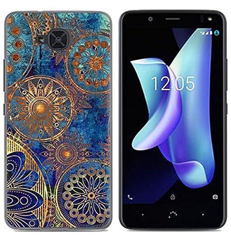 PREVOA Funda para BQ Aquaris U2 / U2 Lite - Colorful Silicona TPU Funda Case para BQ Aquaris U2 / U2 Lite Smartphone - 15