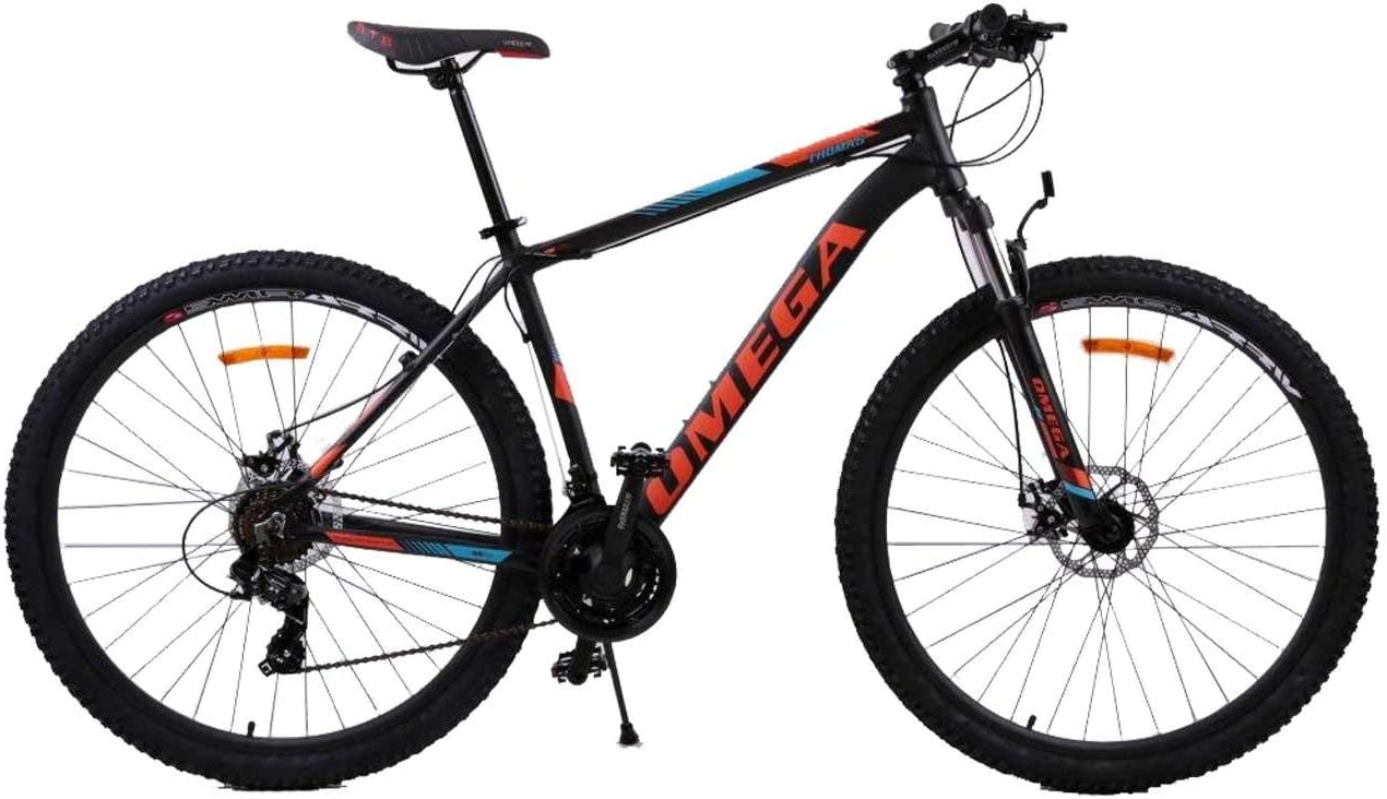 OMEGA BIKES Thomas Bici, Ciclismo, Street, MTB Bike, Unisex Adulto, Naranja, 29: Amazon.es: Deportes y aire libre