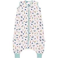 Schlummersack Baby Musselin Sommerschlafsack con pies 0.5 Tog - Barcos - disponible en 4 diferentes tamaños Talla:18-24…