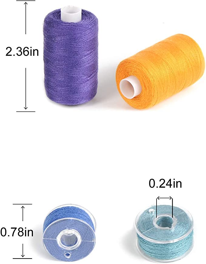 very resistant thread 100 meters LBDK 723-1 bobbin of thread for sewing any textiles Multi-purpose Polyester khaki