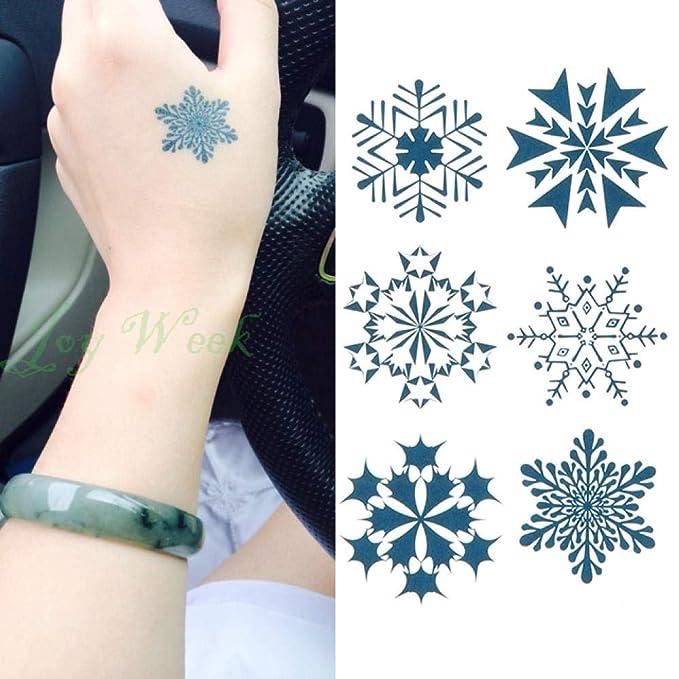 Etiqueta engomada del tatuaje temporal a prueba de agua encantador ...