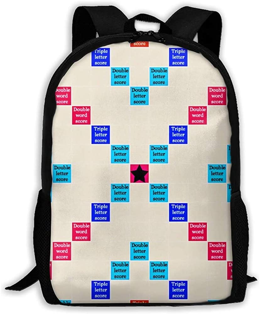 Daypack Scrabble For Calculus Girls Bookbag Casual Teen Travel Bag Boys School Mochila: Amazon.es: Equipaje