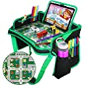 ZALALOVA Kids Waterproof Travel Tray Backseat Car Organizer