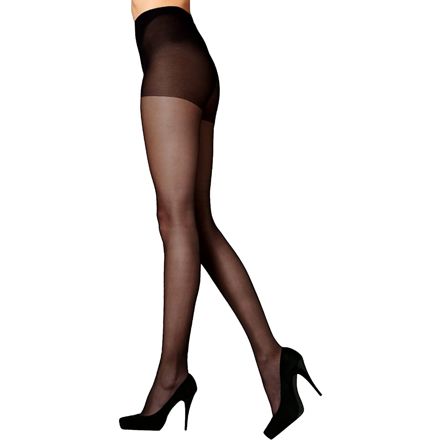 Pretty Legs 20 Denier Smooth Knit Everyday Tights (3 Pair Pack)