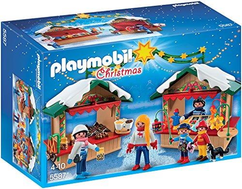 Playmobil 5587 - Auf dem Weihnachtsmarkt