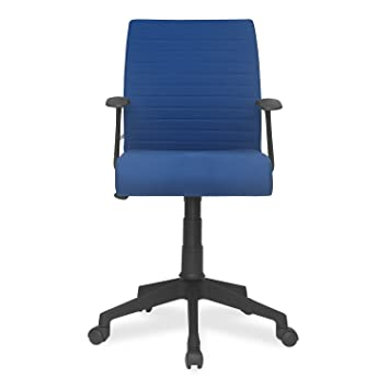 43bae8296 Nilkamal Thames Low-Back Office Chair (Blue)  Amazon.in  Home   Kitchen