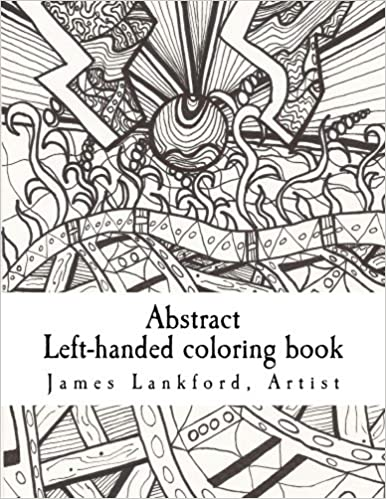 Abstract Lefthanded coloring book James Lankford Susan L